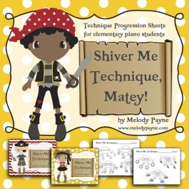 Shiver Me Technique, Matey! PDF Pirate Technique Pack (Elementary) with New Cover Pages!