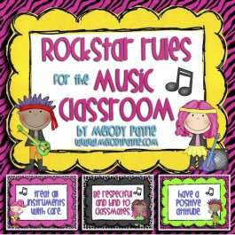 Rockstar Rules for the Music Classroom