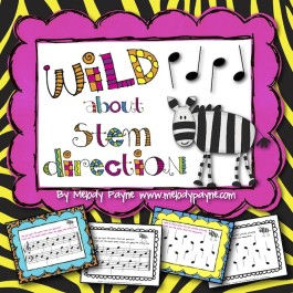 Wild About Stem Direction! Worksheet Bundle for Elementary Students