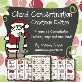 Chord Concentration: Christmas Edition