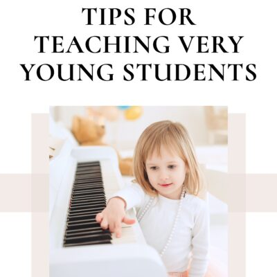 Tips for Teaching Preschool Piano Students