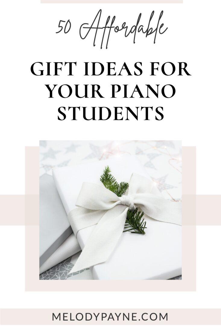 Beautiful gift box with white ribbon