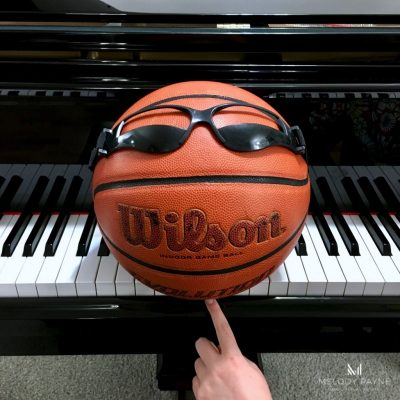 Basketball Dribble Specs in Piano Lessons? Yes Please!