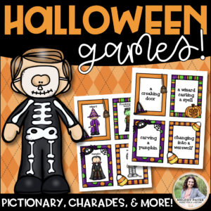 Halloween Games: Charades, Pictionary, 20 Questions, Telephone, & More!