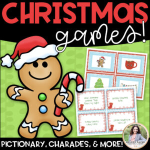 Christmas Games: Charades, Pictionary, 20 Questions, Telephone, & More!