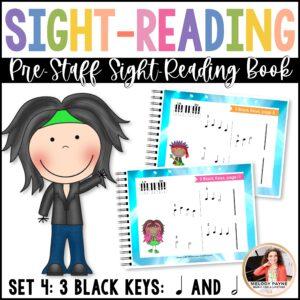 Sight-Read Like A Rock Star, Set 4: 3 Black Keys Both Hands