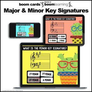 Key Signatures BOOM Cards