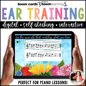 BOOM Cards: Ear Training with Ties & Syncopation