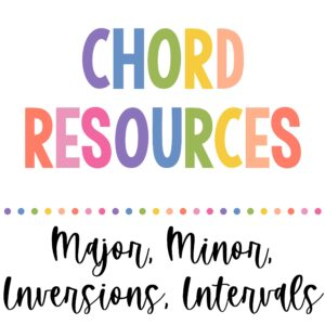 Chords & Inversions