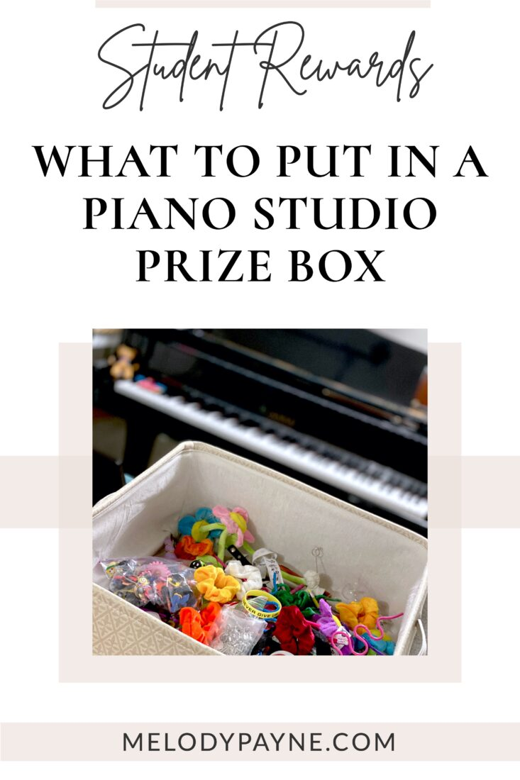 Fun & Affordable Prizes Piano Students Love!