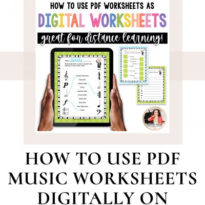 An Easy Way to Make PDF Worksheets Digital for Online Learning