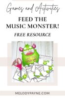 Feed the Music Monster game