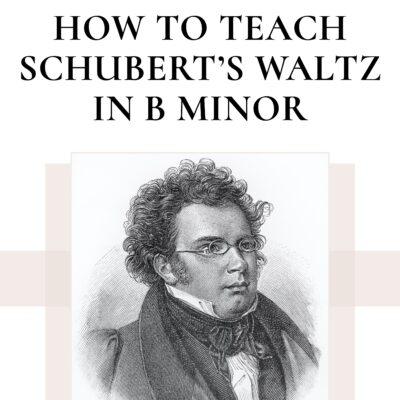 A Deep Dive into Schubert's Waltz in B minor