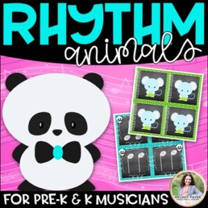 Rhythm Animals {Rhythm & Animal Cards for Your Youngest Musicians}