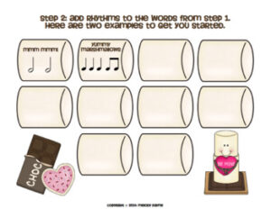 Composing with S'mores: A Guided Elementary Music Composition Valentine Activity