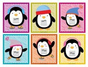 """Intervals Flash Cards 2nds-Octaves: """"Penguintervals!"""""""
