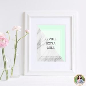 Quote Posters {Marble, Blush, Mint, & Rose Gold}