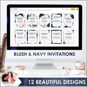 Recital Kit for Google Slides™: Invitations, Programs, Certificates {Flowers}