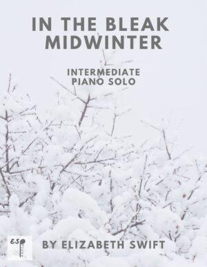 In the Bleak Midwinter for Intermediate Piano