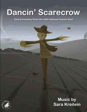 Dancin' Scarecrow ~ Early Elementary Solo With Optional Teacher Duet