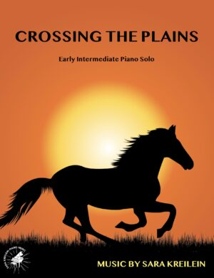 Crossing the Plains ~ Early Intermediate Piano Solo