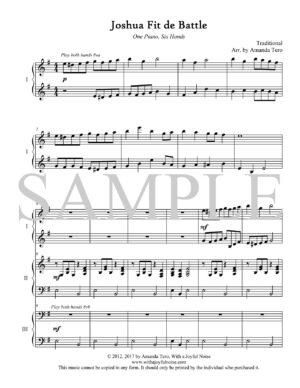 Joshua Fit de Battle – intermediate piano trio
