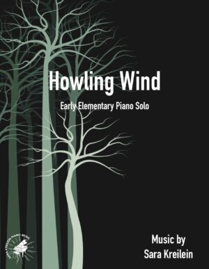 Howling Wind ~ Early Elementary Piano Solo