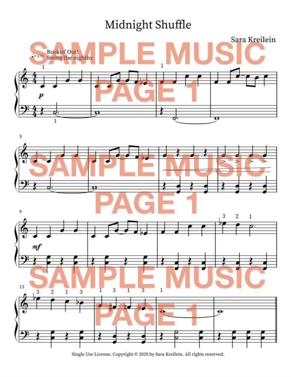 Midnight Shuffle Sample Pg