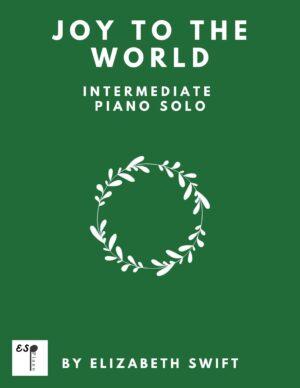Joy to the World for Intermediate Piano