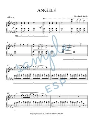 Angels for Intermediate Piano (Angels We Have Heard on High & Hark the Herald Angels Sing)