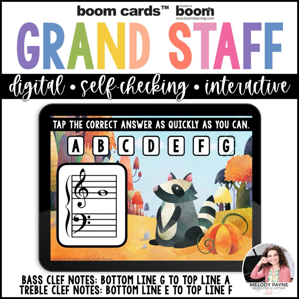 Autumn Boom Cards with watercolor woodland animals